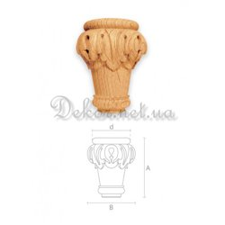 furniture leg MN - 003