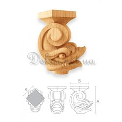 "Furniture leg ""MN - 057"" dragon"