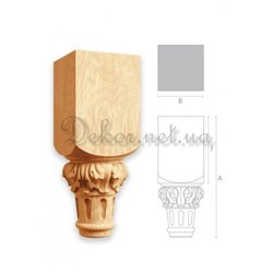 """Furniture legs Italy """"MN - 071"""" for the kitchen"""