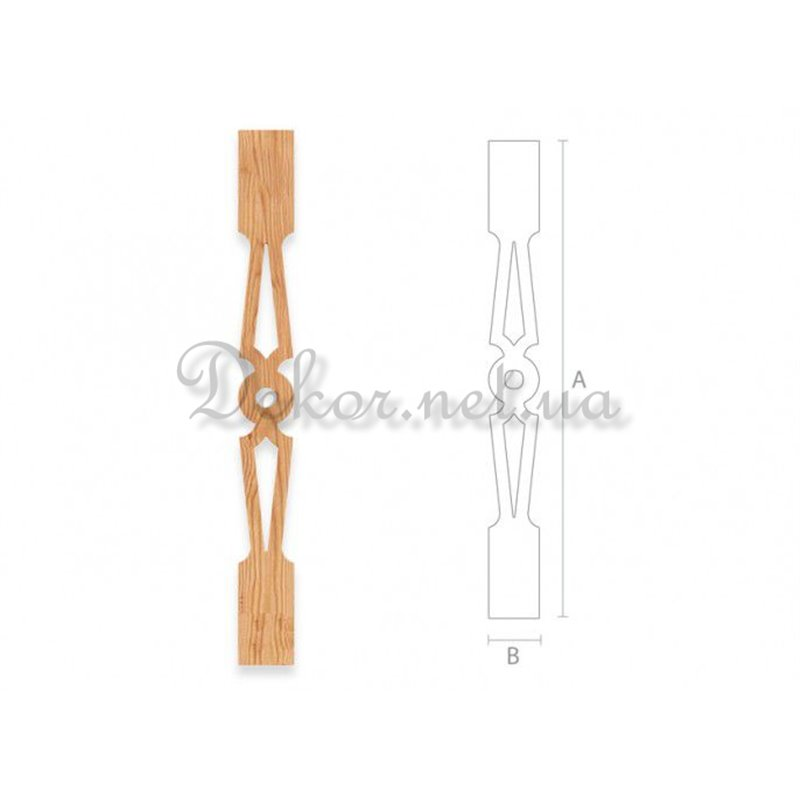 Baluster for stairs BL - 002 Kiev