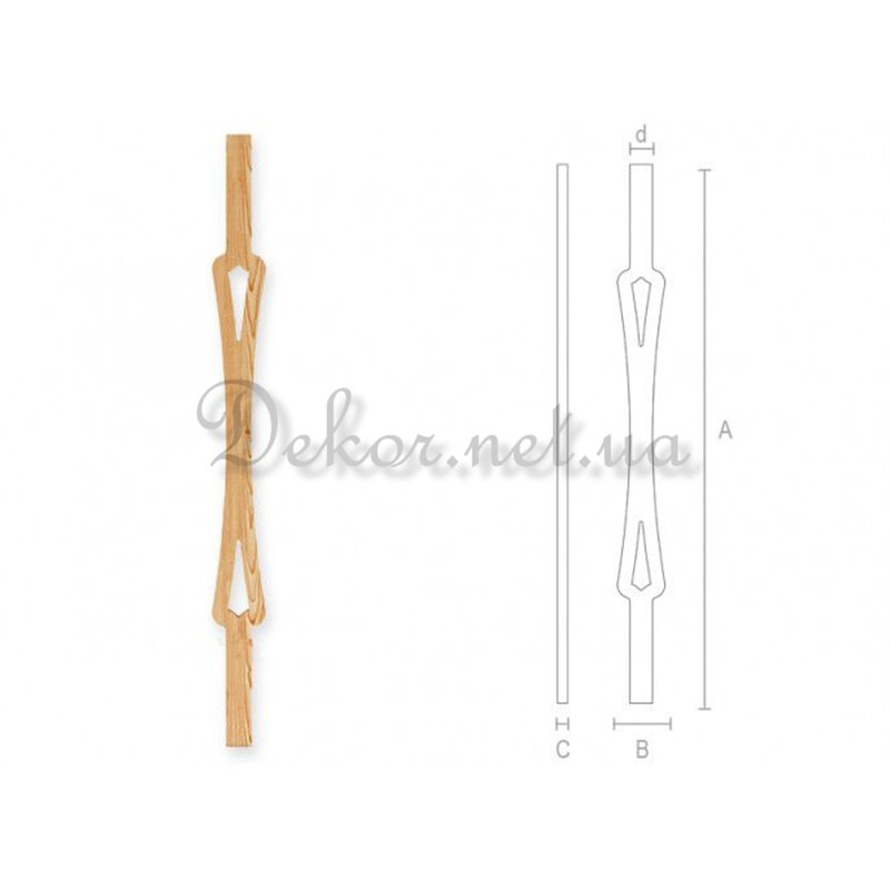 Baluster for stairs BL - 004 Odessa