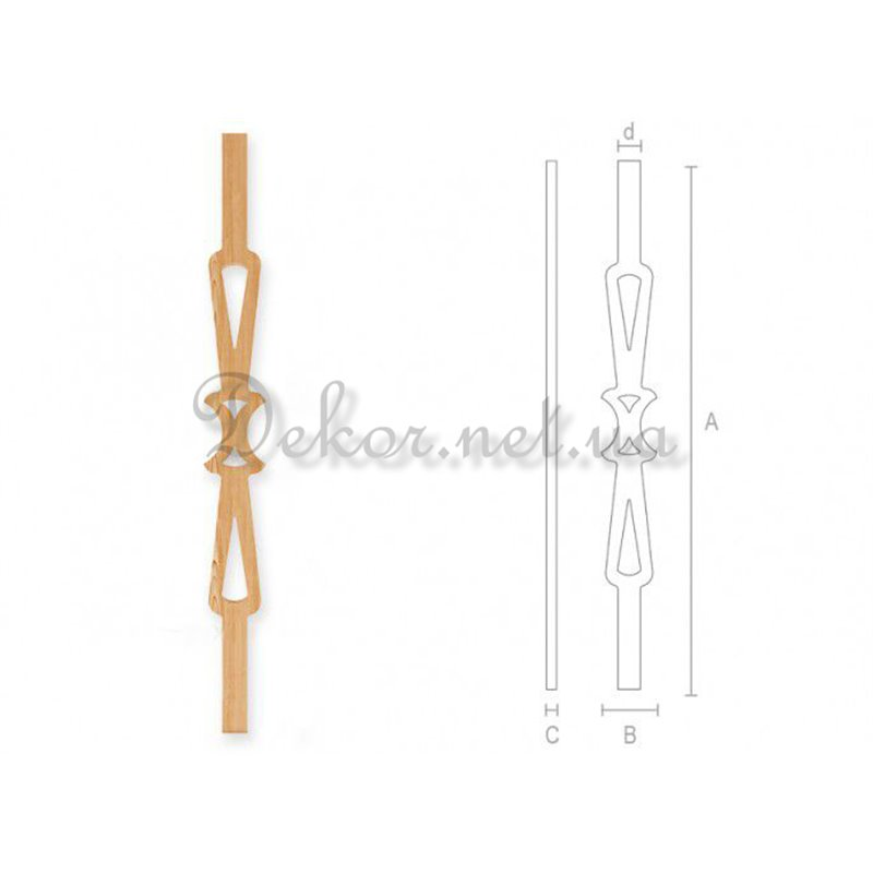 Baluster for stairs BL - 005 Lviv