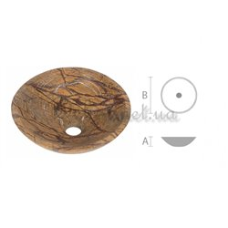 Marble washbasin RK - 009 consignment note